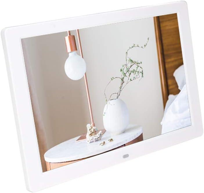 Digital Photo Frame 12 Ultra-Thin Electronic Digital Photo Wall Frame US Plug White