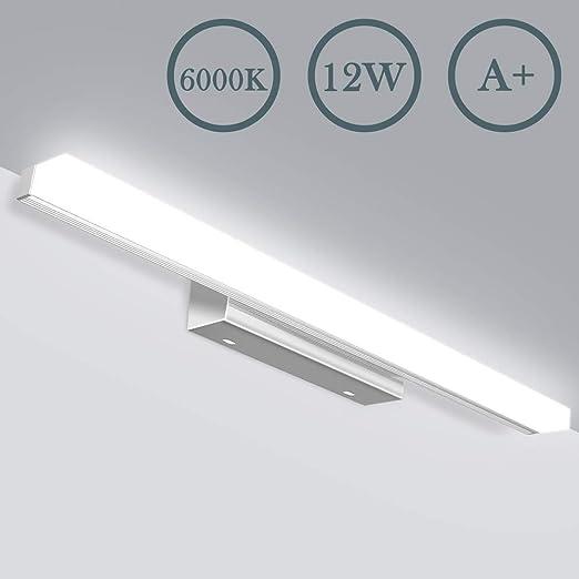 Bevorzugt LED Spiegelleuchte - Badezimmer 12W Badlampe JSLHT Wandleuchte VQ29