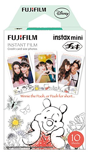 Fujifilm Instax Mini Film Winnie The Pooh (Polaroid Camera Film Disney)
