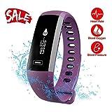 Smart Watch, Fitness Tracker, READ R5.pro Heart Rate Monitor Blood Pressure Bracelet Pedometer