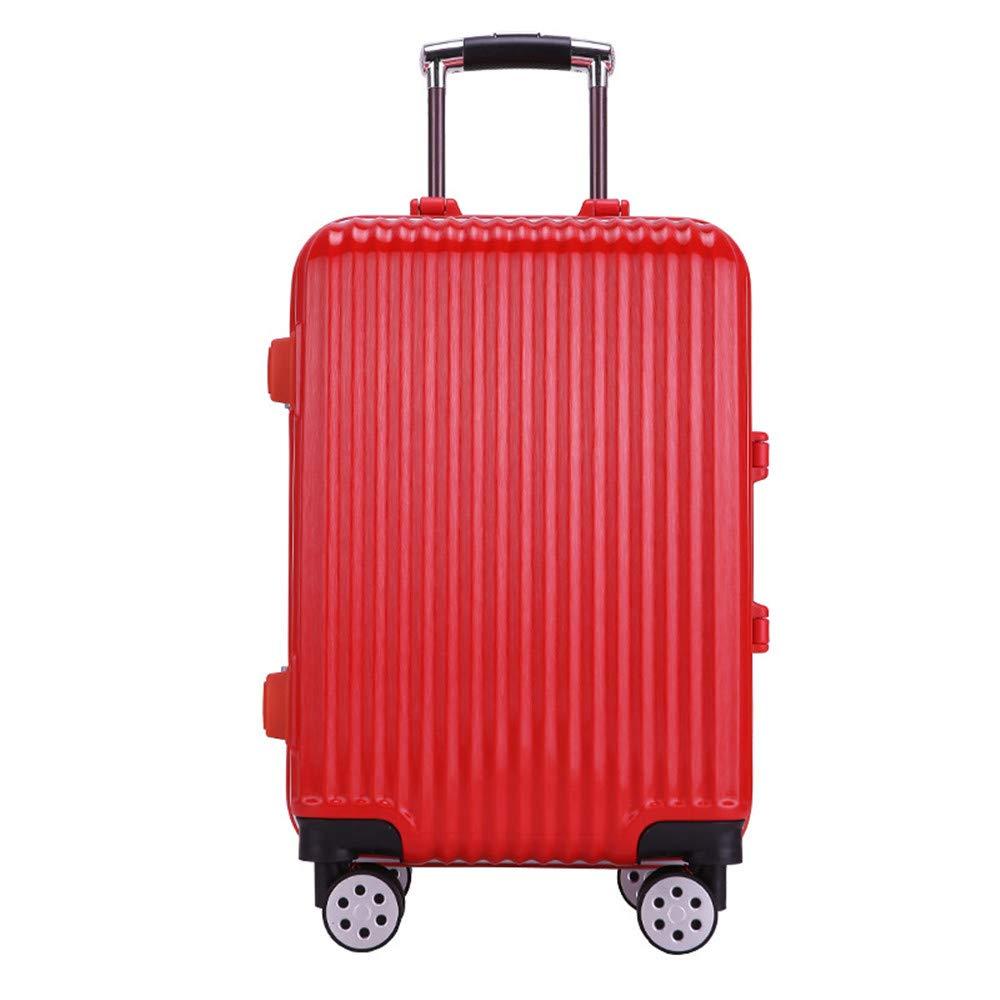 サイレントスーツケース プルロッドボックス、レディラゲッジ、ユニバーサルホイール、20ケース、学生用パスワードボックス、旅行および搭乗用24インチメンズトラベルボックス B07V3PDNWP