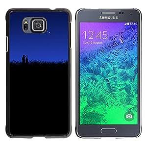 Stuss Case / Funda Carcasa protectora - Look! Lets Wish Upon A Shooting Star - Samsung ALPHA G850