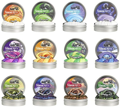Crazy Aaron's Putty .47 oz Mini Tin Assortment - 12 Pack by Crazy Aaron's (Image #7)