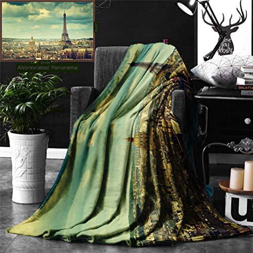 Ralahome Unique Custom Digital Print Flannel Blankets ()