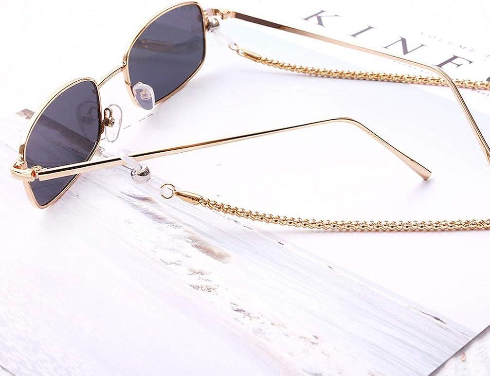 VALICLUD Cadena de Gafas para Mujer Gafas de Sol Cord/ón Cordones Collar Correa Gafas Soporte para Cuerda