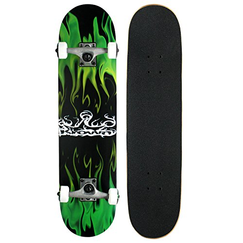 Krown Rookie Complete Skateboard,Green ()