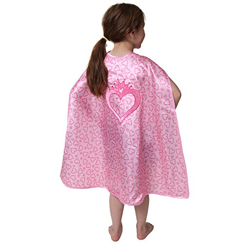 Storybook Wishes Reversible Princess Carriage & Heart Design Cape (Girls Jewel Princess Costume)