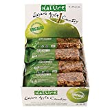 Taste of Nature Organic Fruit and Nut Bars, Niagara Apple Country, 40g, 16-Count