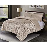 Amazoncom Velvet Quilts Sets Bedding Home Kitchen