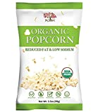 Dr.Snack Organic Popcorn Reduced Fat & Low Sodium 3.5oz (Pack of 12)