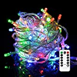 EShing LED Dimmable String Lights, USB Powered Fairy Starry Twinkle Lights with 8 Lighting Modes for Wedding Party Home Patio Lawn Garden Bedroom Outdoor Indoor