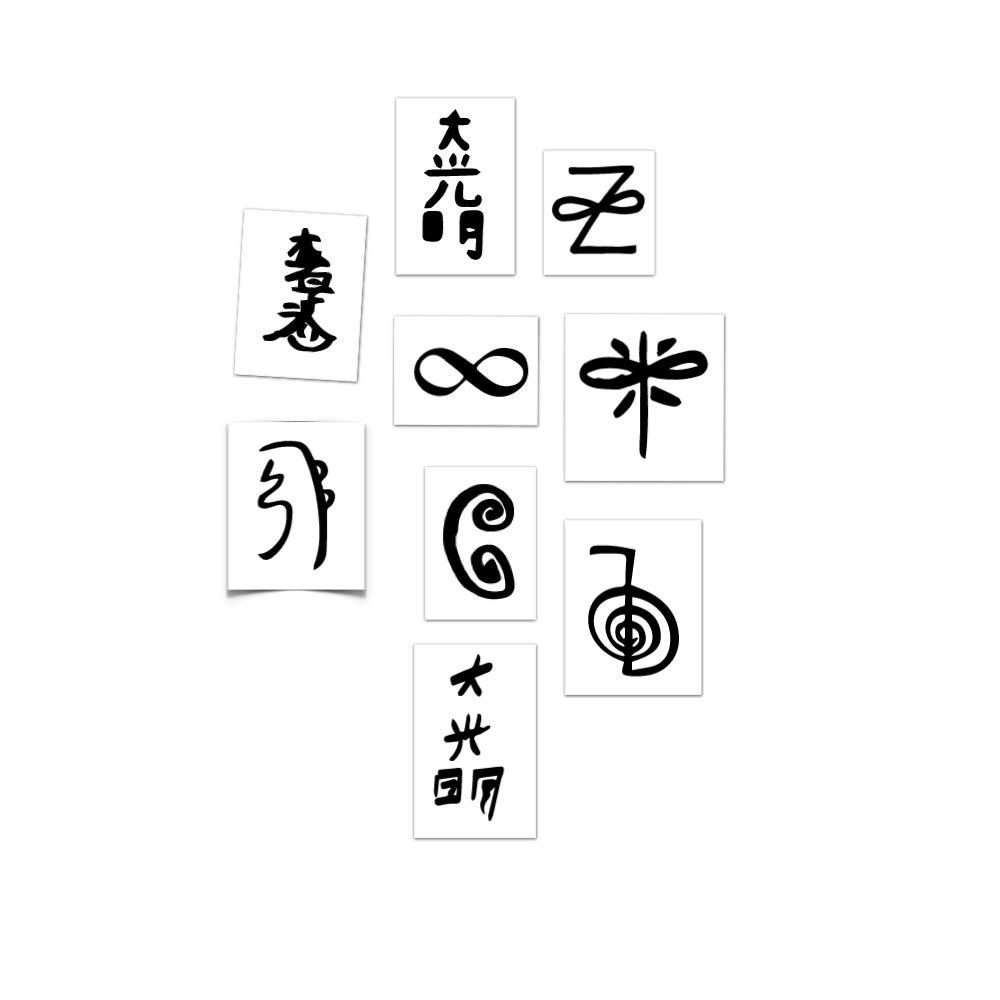 Amazon Tattoo Moments Reiki Symbols Pack Skin Safe