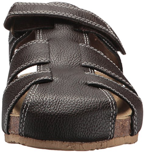 The Children's Place Boys' BB Fisherman SCO Flat Sandal, Brown, Youth 11 Medium US Big Kid by The Children's Place (Image #4)