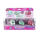 Shopkins ID56611 Cutie Cars 3 Pack Die Cast with Mini Shopkin
