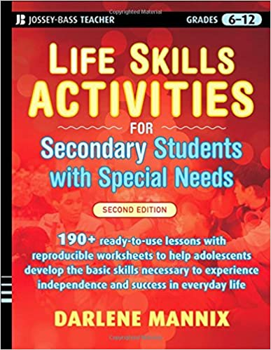 life skills activities for special education autism high school