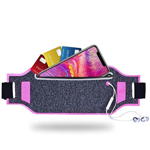 JULAM Running Belt Ultra-Thin Waist Pack for MicroMax Canvas Magnus A117 5.0