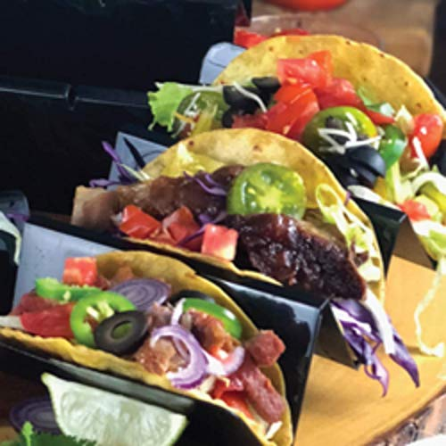 Zappy 10 Pack Taco Holder, Taco Stand holds