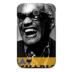 New Style DustinHVance Hard Case Cover For Galaxy S4- Ray Charles