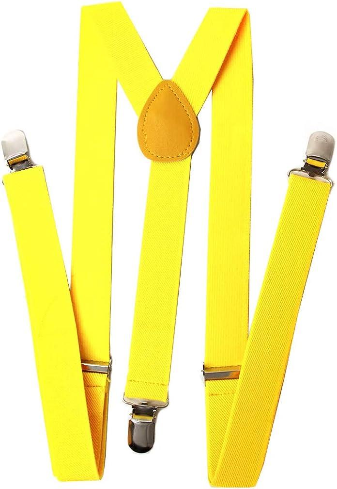 Gravity 1 Inch Wide Suspenders Lt Pink