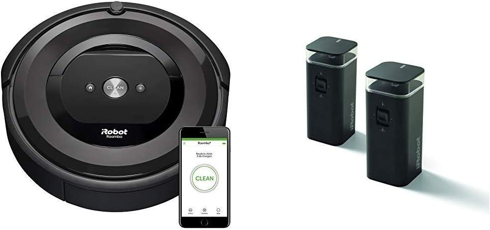 iRobot Roomba E5 (5150) Robot Vacuum with Dual Mode Virtual Wall Barrier (2-Pack)