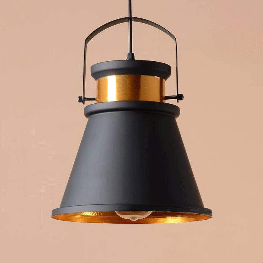 FXING Kronleuchter Loft amerikanischen Retro-Stil Industrie Metall schmiedeeisernen Lampen Deckel Kronleuchter (Stil  A)