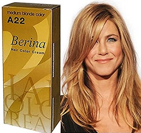 Amazon.com : Permanent Hair Dye Color Cream Berina Hair Color ...