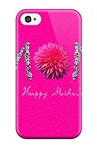 Durable Case For The Iphone 4/4s- Eco-friendly Retail Packaging(happy Mothers Day )