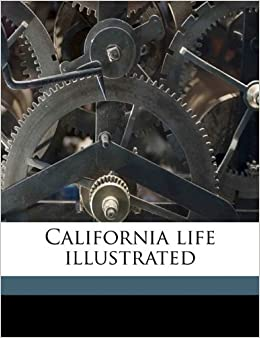 Book California life illustrated