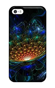 Durable Fractal Back Case/cover For Iphone 5/5s