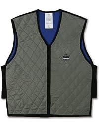 Ergodyne Chill-Its 6665 Evaporative Cooling Vest - Gray, XX-Large