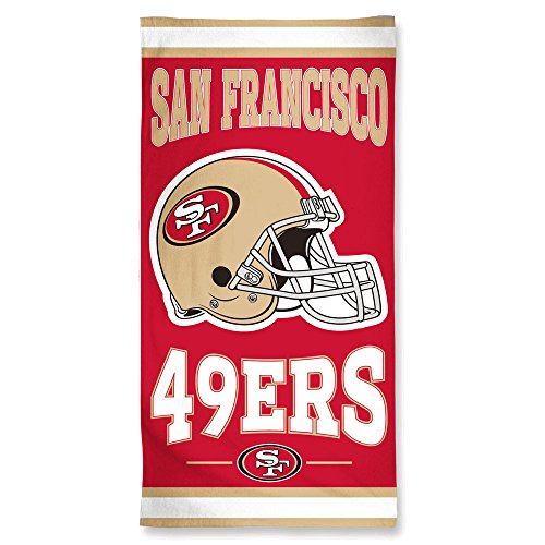 San Francisco 49ers NFL Beach Towel (30x60)