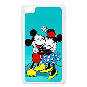 iPod Touch 4 Case White Mickey Mouse Mitch Custom KHJSDFUJF2502