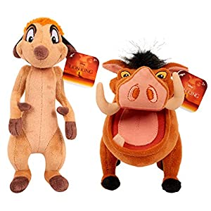 Disney The Lion King – Timon and Pumba – Set of 2 Small Plush Figures 8 inch