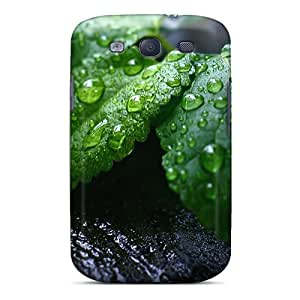 Galaxy S3 Case Cover Skin : Premium High Quality Fresh Mint Leaves Case
