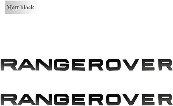 """Matte Silver /"""" SPORT /"""" Letters Trunk Badge Emblem Badge Sticker for LAND ROVER"""