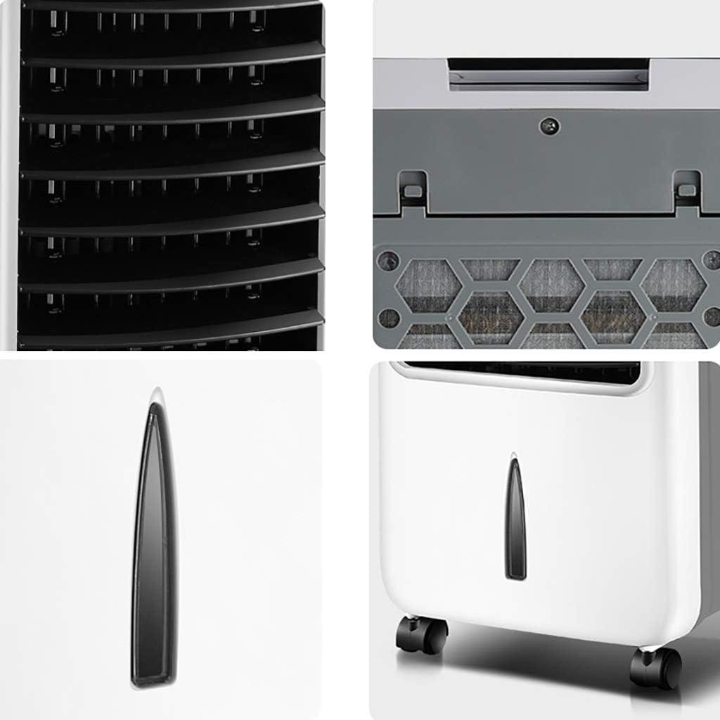 HYXLFJ Luchtkoeler Airconditioning Ventilator Koeling Afstandsbediening Huishoudelijke Kleine Luchtkoeler Slaapzaal Ventilator Chiller Plus Water Kleine Airconditioning 70 W A pcj8B3lv