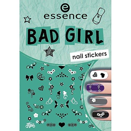 ESSENCE NAIL ART STICKERS PARA UÑAS 02 BAD GIRLS