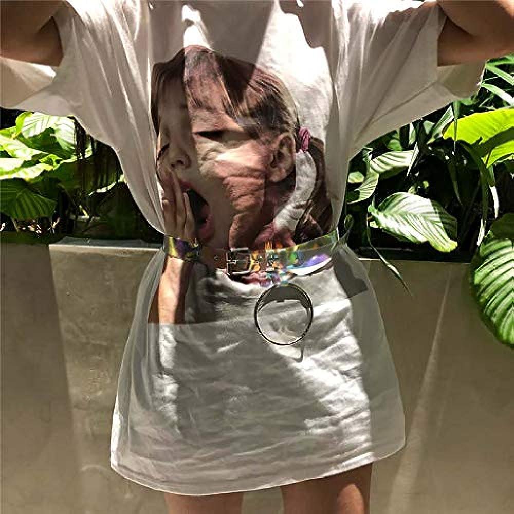 Men Women Vintage Custom Fabric Text Flocking Summer Black Short-Sleeved Shirt