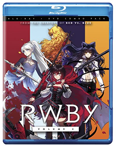 Blu-ray : RWBY: Volume 4 (With DVD, Widescreen, 2 Pack, 2 Disc)