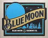 Blue Moon Bar Mat Professional Spill Mat Wait Station Drip Mat 12x9 Coaster