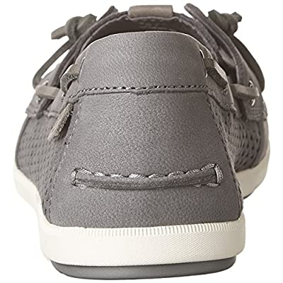 Sperry Top-Sider Coil Ivy Scale Emboss Boat Shoe Women 6 Grey | Loafers & Slip-Ons