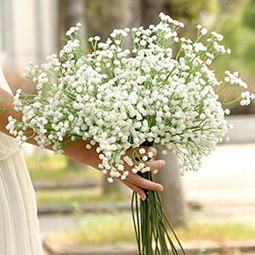 Mchoice Artificial Gypsophila Flower Fake Silk Wedding Party Bouquet Home Decor