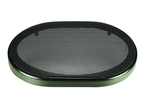 6 x 9 Inch Car Audio Speaker Metal Black Grill Cover Guard Protector Grille Universal
