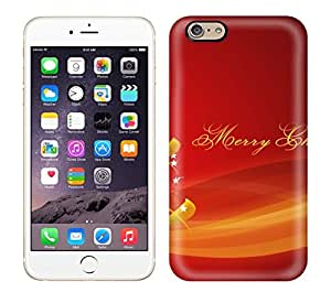 Awesome GunsRoses Defender Tpu Hard Case Cover For Iphone 6- Merry Christmas Red