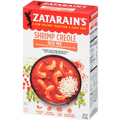 Zatarain's Shrimp Creole Base, 2 oz (Pack of 12)