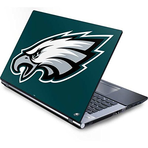 (Skinit Philadelphia Eagles Large Logo Generic 15.4in Laptop Skin - Officially Licensed NFL Laptop Decal - Ultra Thin, Lightweight Vinyl Decal Protection)