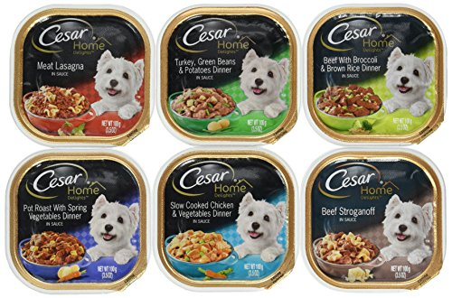 Cesar Home Delights Variety Pack 6 Flavors 30 Count Review