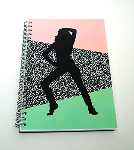 80's Themed Food and Fitness Journal - 200 Day Food Tracker
