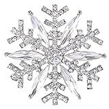EVER FAITH Austrian Crystal Winter Art D
