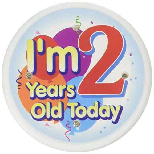 Beistle FB52 I'm 2 Years Old Today